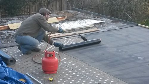 resurfacing flat roof