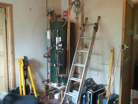 thermal store-installation